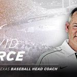 NEWS: David Pierce hired as new @Texas_Baseball coach. https://t.co/sOIP53Ti5o https://t.co/rXNnBTa1Vl