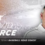 David Pierce has been named Texas Baseball head coach. #HookEm! 🤘 https://t.co/osWXX4suGX