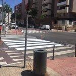 El Ayuntamiento repinta más de una treintena de pasos de cebra en Oliveros @mcastellonrubio @carlossanchezpp https://t.co/gqqiTz8J1G