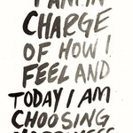 Take charge of your feelings! Always choose happiness everything else will fall in the place! #WednesdayWisdom https://t.co/499WfQgCs8