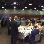 Right Now! June Luncheon.. Thanks to the people that made it today! We have full house! https://t.co/eDiofFM0hC