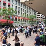 And the protest is beginning to fizzle out down here at the Langham Hotel. #Trump #Boston https://t.co/a6RuxSAKav