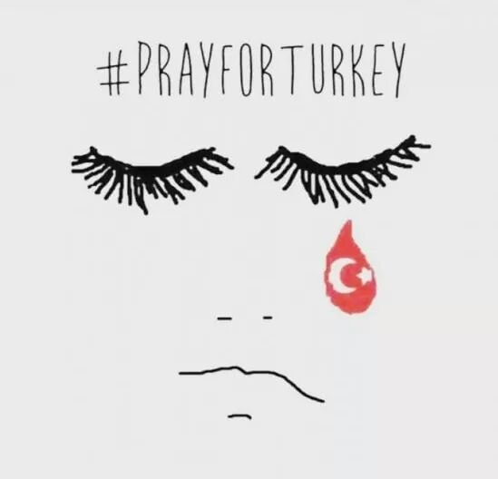 #PrayForTurkey