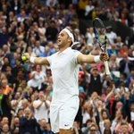 A moment Marcus Willis will never forget... #Wimbledon https://t.co/vVxrPoYgIZ