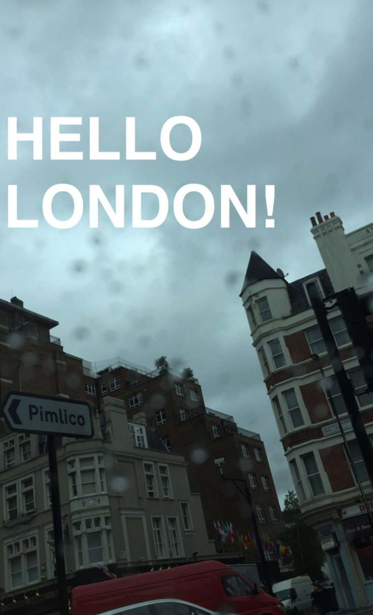 Hello London! https://t.co/DPcAGWXbUd