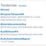 TT en Uruguay , te necesitamos aquí @AbrahamMateoMus  #UruguayTeEsperaAM De Brazos abiertos! https://t.co/6qBrunEOD2 dksm