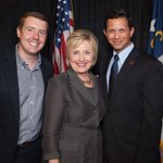 We were so excited to meet @HillaryClinton last week in Raleigh. #ImWithHer #ShesWithUs #ncpol #madampotus https://t.co/8yRxTpMtxj