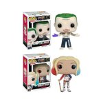 RT & follow @FunkoDCLegion for a chance to win a set of #SuicideSquad Joker & Harley Quinn Pop!s! https://t.co/kXVO0rVZ4O
