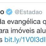 Lei Rouanet dos evangélicos! https://t.co/qbJBaXg4Tb