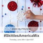 5 Mins! Pls RT! RSVP for #SkittlesAmericaMix #sweepstakes Twitter Party TODAY 1pm ET! Rules https://t.co/ZR2mLhjR8m https://t.co/hhpLKspdtR