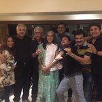 Sarabhai family at satish ji s place.... Some good news for fans on its way 😜😆 https://t.co/lHQ9JjkfoR