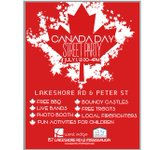 #CanadaDay street party in #PortCredit on July 1st! Thanks to West Edge and The First Untied Church. #RedandWhite https://t.co/SNPlQgWHyQ