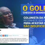 "Elio Gaspari, colunista da @folha, publicou hj texto intitulado ""Há golpe"". O golpe, enfim, chegou à grande mídia. https://t.co/lalSFYjaej"