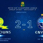 WELL DONE BOYS, lets improve on this performance on the next game , lets convert the chances @Masandawana #CAFCL https://t.co/lx3XOMa1Dq