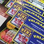 Zaterdag 02.07.2016 4 vrijkaarten voor #CircusRenz in #Loosdrecht op 06.07.2016 Bij de Sensation de luxe box https://t.co/9bySxBPXxq