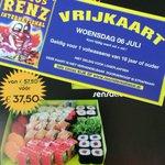 Ga 06.07.2016 naar het #Circus met @SushiTimeHsum Bestel Zat. 02.07.2016 de #SensationDeLuxeBox en ontvang 4 kaarten https://t.co/zPrl3K7rF9