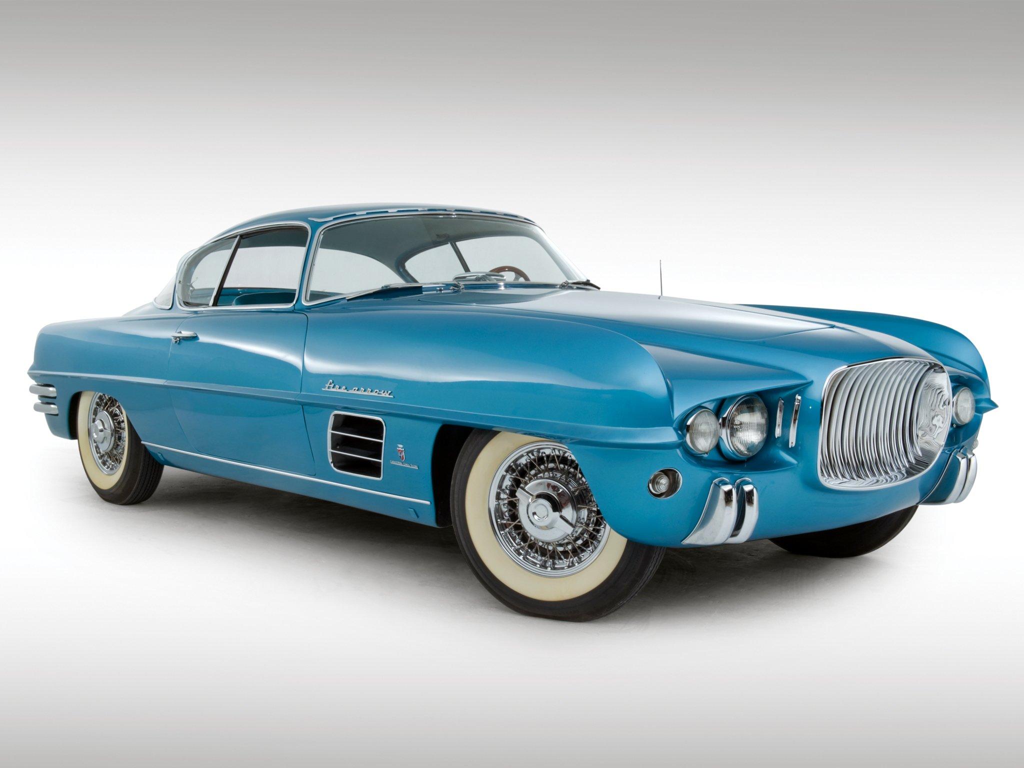 1954 Dodge Firearrow Sport Coupe Concept Car (Ghia). https://t.co/rjESZel9ls