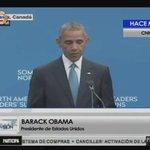 Desde Ottawa, Obama aboga por el referendo revocatorio en Venezuela (+VIDEO) https://t.co/7LdnRAbSqO https://t.co/ZDyM2u2MyP