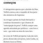 Que se lasque @STF_oficial com sua justiça mafiosa.Vamos para as ruas pedir um Brasil limpo de ladrões corruptos. https://t.co/gJTa4zrjPm