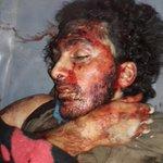 استشهاد المجاهد البطل ابو قيس صاحب صورة السلفي مع القنابل العنقودية الروسية الإجرامية على جبهة الملاح بحلب قبل قليل. https://t.co/ujWKuRPDu4