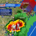 Strong storm heading into North Shore. Lots of lightning. Mariners/outdoor activities should head indoors. #WCVB https://t.co/UzZtS22Lh9