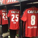 Vestiário rubro-negro pronto para Vitória x @sportrecife. Só falta você. #SouMaisVitória #CadaVezMaior https://t.co/Y0CgMA4pYg