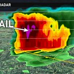 The @wfmy 3D-Radar is picking up on the hail inside the storm in Rockingham Co. https://t.co/Myo2b5Qeen