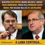 O Brasil está perdendo esperança! Dias Toffoli é mancha na história da Justiça Estamos envergonhados @STF_oficial https://t.co/6nevHzrQgm