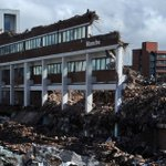 Post-apocalyptic sight as demolition of old #Manchester Materials Science… https://t.co/wqQWAagdqf #Manchester https://t.co/hmKo7PhyyD