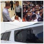 Fuimos brutalmente agredidos por enviados de Javier Duarte. No a la legalización de la corrupción. Ni un paso atrás! https://t.co/4q9feh5NCe