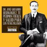 Hoy se cumplen 97 años de la muerte del Dr José Gregorio Hernández. Pidamos por la salud de toda #Venezuela. https://t.co/tVAfxAJ8oK