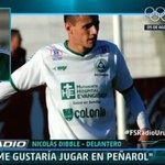"""Nicolás Dibble: """"Hoy de noche tengo novedades. Me gustaría jugar en Peñarol, me siento preparado"""" #FSRadioUruguay https://t.co/URSMhLvLeh"""