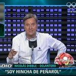 """Nicolás Dibble: """"Le dije a mi representante que arregle con Peñarol. Yo soy hincha del cuadro"""" #FSRadioUruguay https://t.co/rxilDoTD10"""
