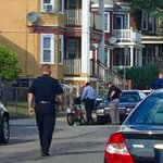 UPDATE. #Boston PD: teen on bike collided w car in #Dorchester has serious but non-life threatening injures. #7News https://t.co/5vhIkftvrj