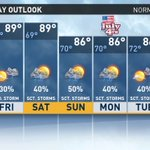 Heres the #latenight edition of the @WFMY Triad 7-Day Forecast. https://t.co/fEZYHNetNO