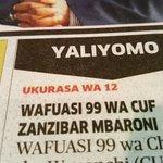 #NIPASHE Wafuasi 99 wa CUF Zbar wamewekwa rumande kwa madai ya kuhusika na vitendo vya uhalifu na uchochezi https://t.co/iL5w4B7eQ1