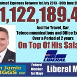 $1.1m expenses not enough to persuade Jamie Briggs to answer questions!! https://t.co/YnGaGzXPfQ #auspol #ausvotes https://t.co/25pSokBJ21