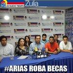 Señor @panchoarias2012 no tienes el derecho de robarle el futuro a los jóvenes q quieren estudiar #AriasRobaBecas https://t.co/j2I5mYKWUq