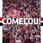 Bola rolando no #Morumbi para São Paulo x Fluminense, pelo Campeonato Brasileiro! #VamosSãoPaulo https://t.co/6ZeIljjc0W