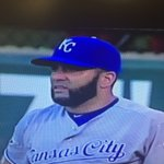 Kendrys! Awesome stuff. Ive never looked closely at his beard before. So precise! #DefendTheCrown #Royals https://t.co/G6UoilFdl0