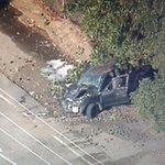 Ventura Dbl shooting 1 dead 4200 Main Then a suspect pursuit crash 4 miles away 4 suspects in custody @KCBSKCALDesk https://t.co/8028ZMrCSK