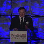 .@RCRracing s Richard Childress at tonights Motorsports HOF Ceremony...@WFMY ..thanks for the picture @budd16 https://t.co/HCeALalFWK