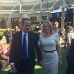 Bill Shorten and his wife Chloe campaigning in marginal LNP held seat of Forde #ausvotes https://t.co/Su3Xhgfqfy