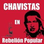 NicolasMaduro: RT candangaNoticia: Vamos con la etiqueta, #ChavistasEnRebelionPopular. https://t.co/x2CWfGBDp5