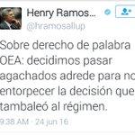 @madrugonazo1 Que credibilidad puede tener este personaje @hramosallup puro mentir! #ChavistasEnRebelionPopular https://t.co/2jcp0qllfF