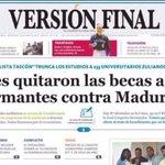 """Venezuela """"Les quitaron las becas a firmantes contra Maduro"""" Una muestra del talante anti democrático de Maduro https://t.co/5CKvfgXSWT"""