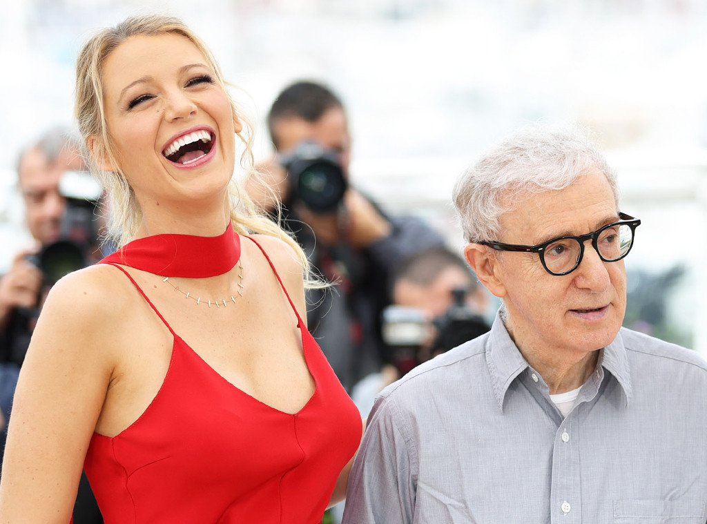 Blake Lively says working with Woody Allen helps build your confidence as an actor: