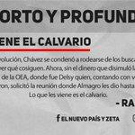 Corto y Profundo │@PoleoRafael: En la OEA no hubo voto comprado que valiera... https://t.co/qbmUpkvUSJ