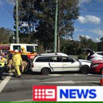 A mans suffered serious injuries in a 3 car crash at Worongary. #9News https://t.co/IgkuDXcGTZ