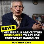 Generous welfare? Liberals have announced $$ to be taken off pensioners, the disabled and veterans. #NPC #ausvotes https://t.co/BoZpaE1sTT
